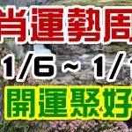 2020生肖運勢週報|01/06-01/12|金玲老師(有字幕)