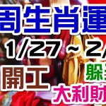 2020生肖運勢週報|01/27-02/02|金玲老師(有字幕)