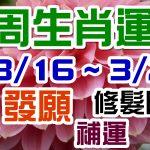 2020生肖運勢週報|03/16-03/22|金玲老師(有字幕)